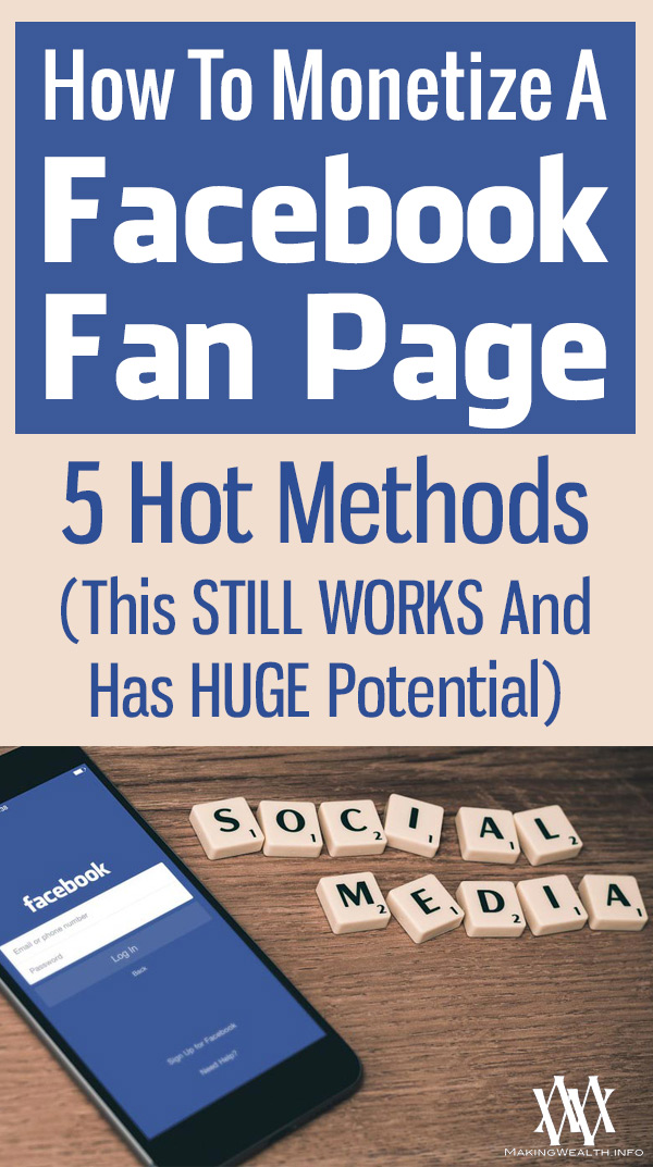 How To Monetize A Facebook Fan Page