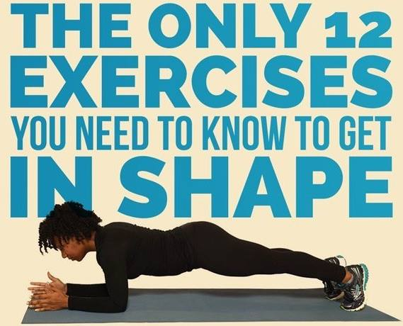 The Only 12 Exercises You Need