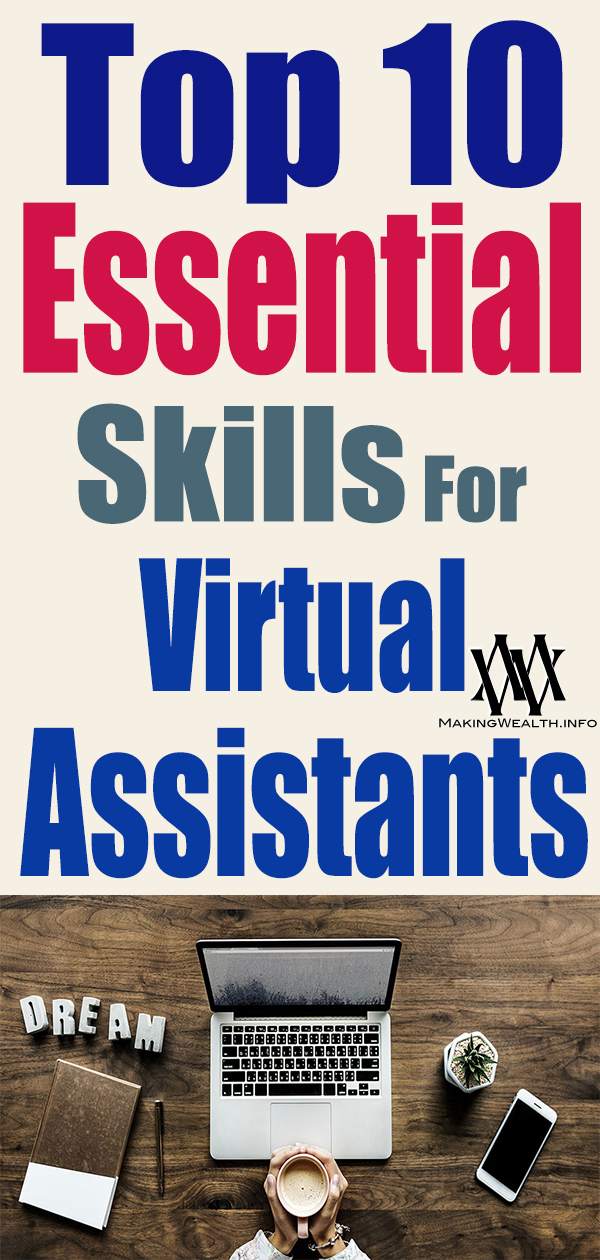 Top 10 ESSENTIAL Skills For Virtual Assistants - How To Be An Amazing Virtual Assistant