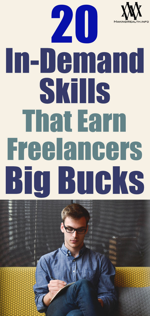 20 In-Demand Skills That Earn Freelancers Big Bucks