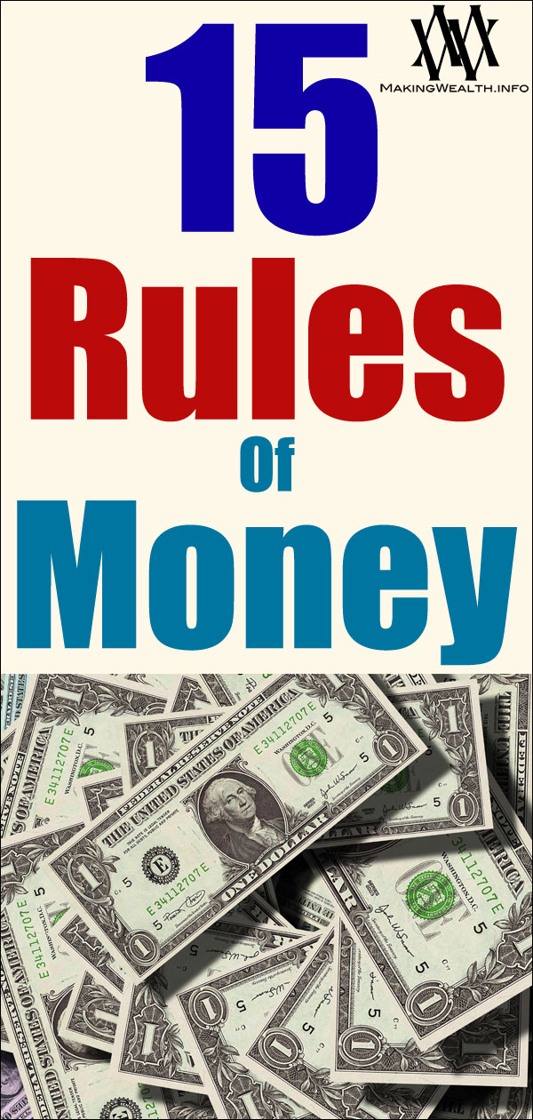 15 Rules Of Money