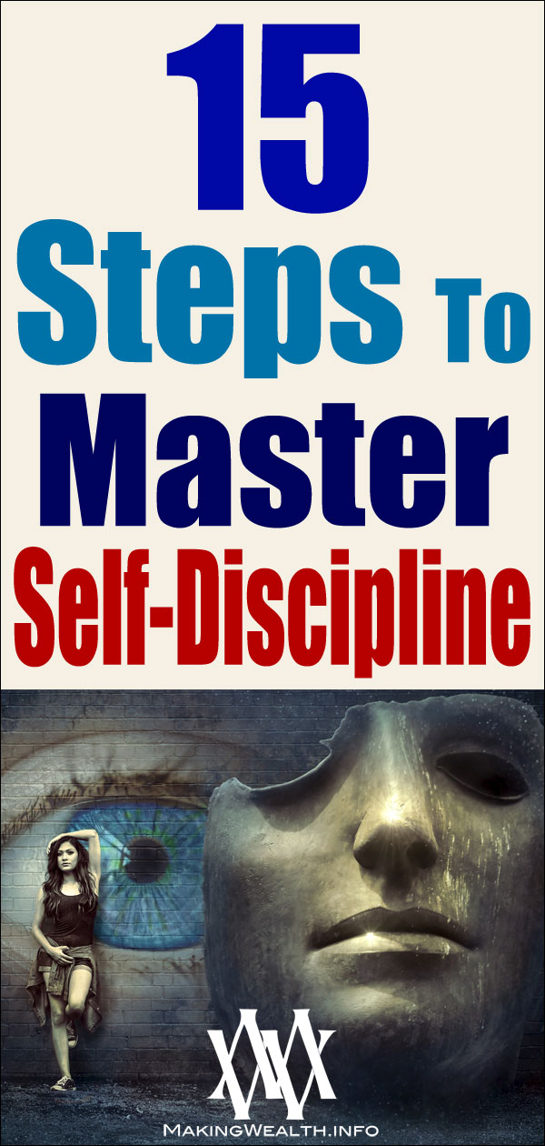 15 Steps To Master Self-Discipline
