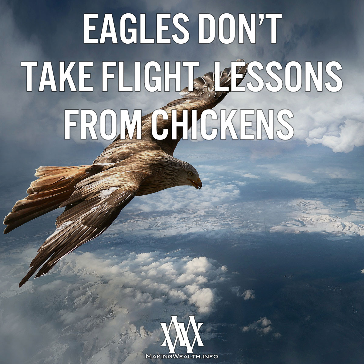 Eagles Dont Take Flight Lessons From Chickens