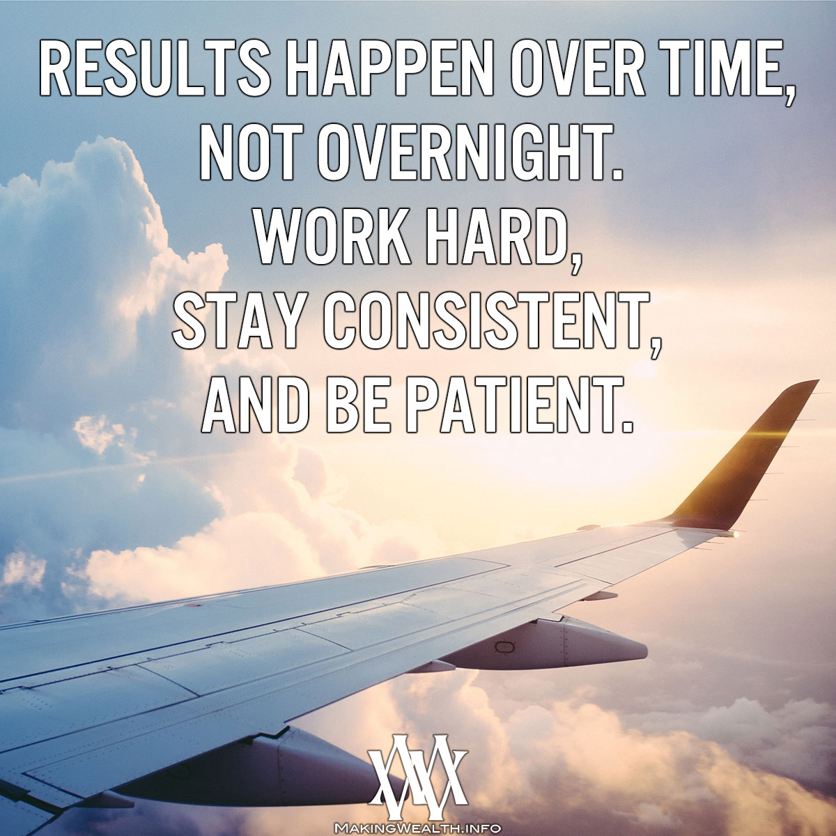 Results Happen Over Time Not Overnight