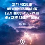 Stay Focused On Your Destination