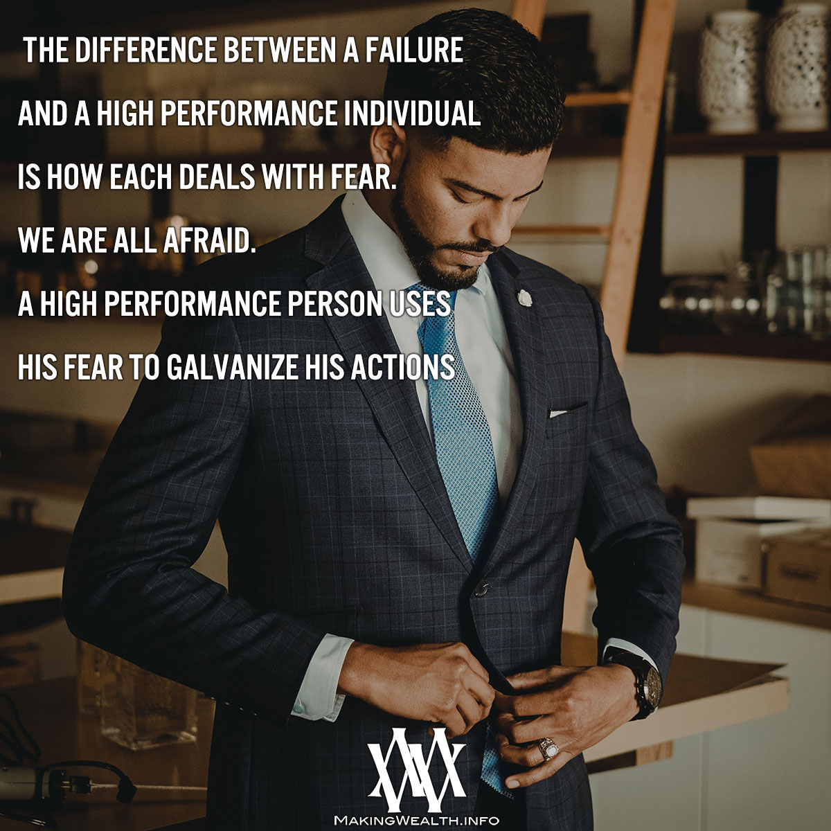 The Difference Between A Failure And A High Performance Individual