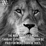 The Man Who Does More Than He Is Paid For