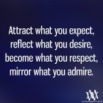 Attract What You Expect, Reflect What You Desire