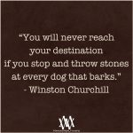 You Will Never Reach Your Destination If You Stop