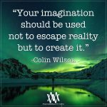 Your Imagination Should Be Used