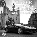 Today I Will Do What Others Wont