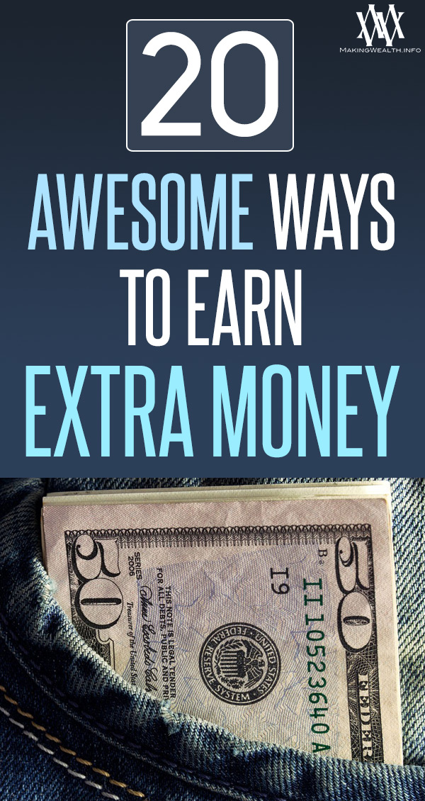 20 Awesome Ways To Earn Extra Money